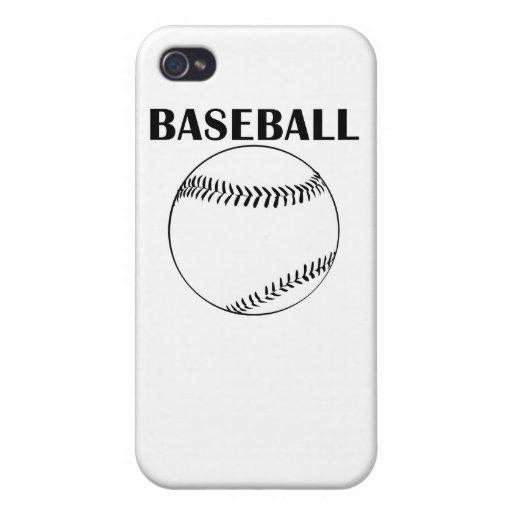 Béisbol iPhone 4/4S Fundas