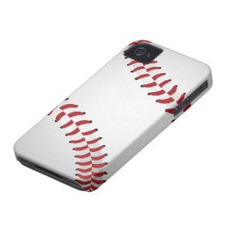 béisbol iPhone 4 Case-Mate protectores