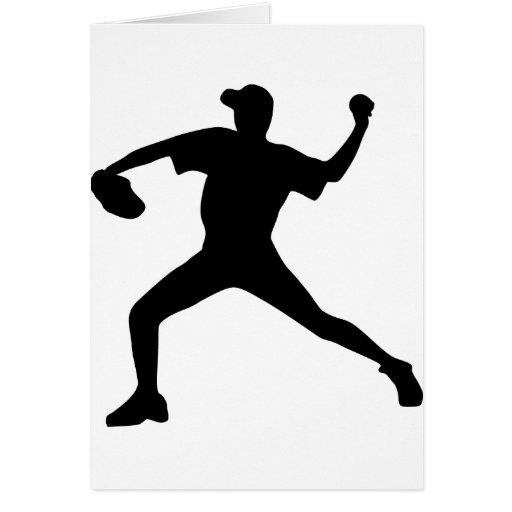 Béisbol - jarra tarjeta de felicitación