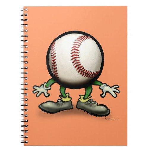 Béisbol Libretas Espirales