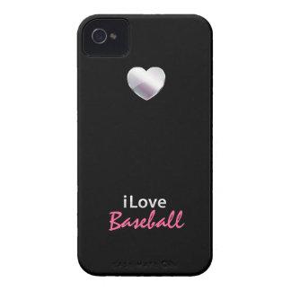 Béisbol lindo Case-Mate iPhone 4 protector