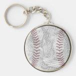 Béisbol Llaveros Personalizados