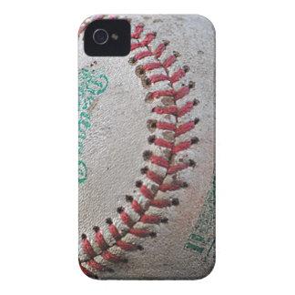 Béisbol llevado vintage iPhone 4 carcasas