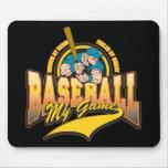 Béisbol mi juego alfombrilla de ratón