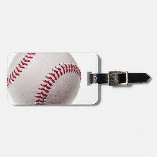 Béisbol - modificado para requisitos particulares etiquetas de equipaje