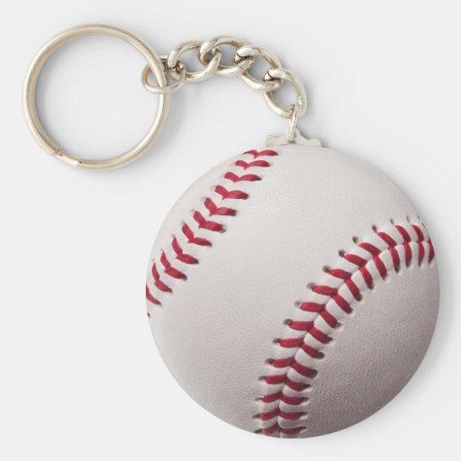 Béisbol - modificado para requisitos particulares llaveros personalizados