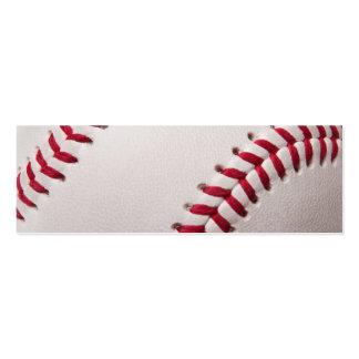 Béisbol - modificado para requisitos particulares plantilla de tarjeta de visita