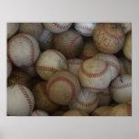 Béisbol (modifique para requisitos particulares) impresiones