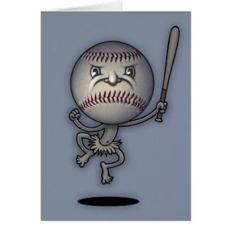 Béisbol Mojo Juju Tarjeta De Felicitación