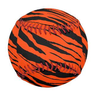 Béisbol-Negro-Diseño 2 de la tira del tigre