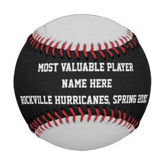 Béisbol negro y gris, premio del jugador de MVP