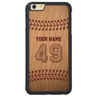 Béisbol número 49 con su nombre - deportivo de