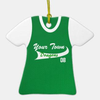 Béisbol o softball de la liga de la ciudad natal ornamentos de reyes magos