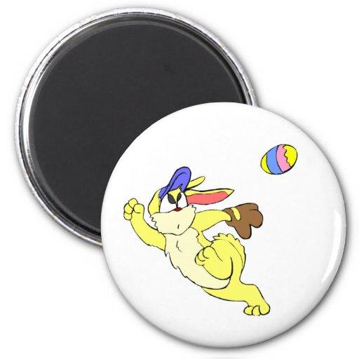 Béisbol Pascua Imán Redondo 5 Cm