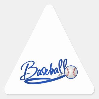 Béisbol Calcomanía Trianguladas Personalizadas