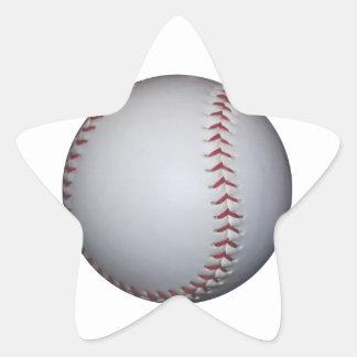 Béisbol Calcomania Forma De Estrella Personalizada