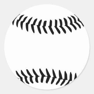 Béisbol Pegatina Redonda