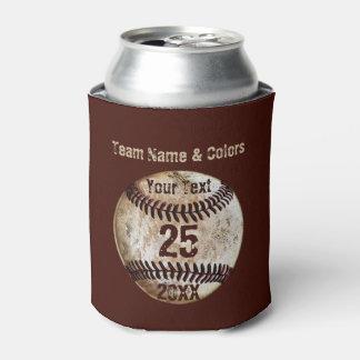 Béisbol personalizado barato para el equipo enfriador de latas