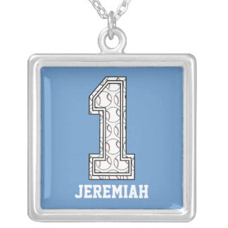 Béisbol personalizado número 1 joyerías