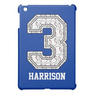 Béisbol personalizado número 3