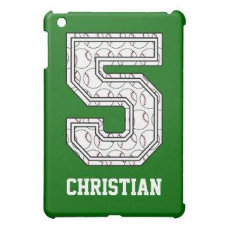 Béisbol personalizado número 5