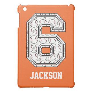 Béisbol personalizado número 6