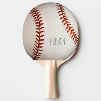 Béisbol personalizado pala de ping pong