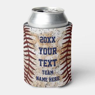 Béisbol personalizado para los coches, jugadores enfriador de latas