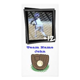 Béisbol Photocard Tarjeta Con Foto Personalizada
