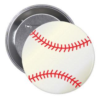 Béisbol Pin Redondo 7 Cm