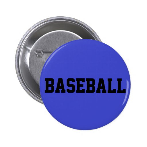 Béisbol Pin Redondo 5 Cm