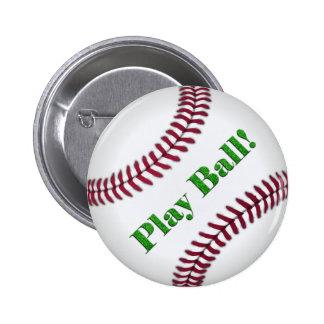 Béisbol Pin Redondo De 2 Pulgadas