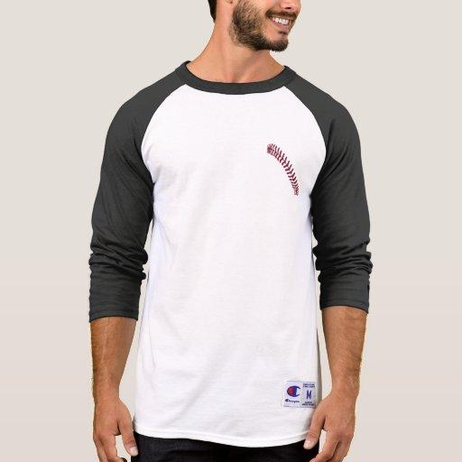 "Béisbol ""pisada "" camisetas"