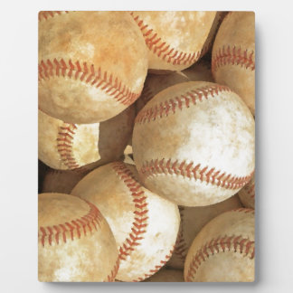 Béisbol Placa De Plastico