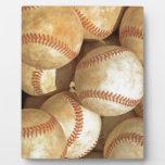 Béisbol Placas De Plastico