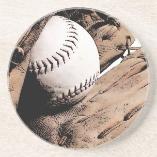 Béisbol Posavasos Manualidades