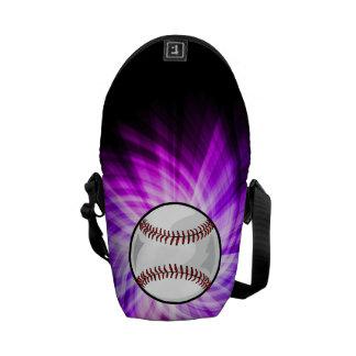 Béisbol púrpura; Softball Bolsas De Mensajeria