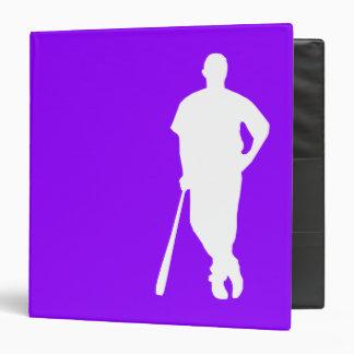 Béisbol púrpura violeta, softball
