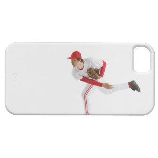 Béisbol que lanza de la jarra funda para iPhone 5 barely there