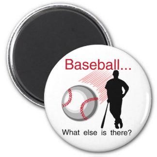 Béisbol qué más camisetas y regalos iman de frigorífico