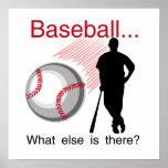Béisbol qué más camisetas y regalos poster