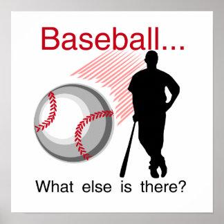Béisbol qué más camisetas y regalos póster