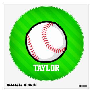 Béisbol; Rayas verdes de neón