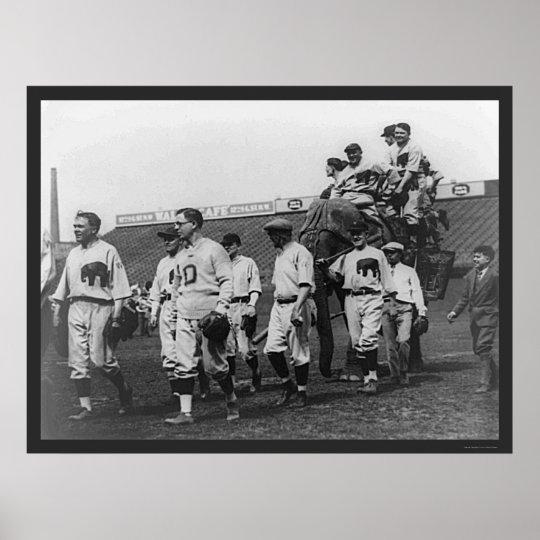 Béisbol republicano 1926 de Demócrata Póster