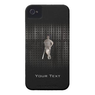 Béisbol rugoso iPhone 4 protectores
