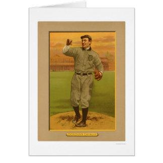 Béisbol salvaje 1911 de los tigres de Bill Donovan Tarjeta De Felicitación