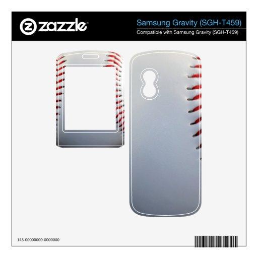 Béisbol Samsung Gravity Calcomanía