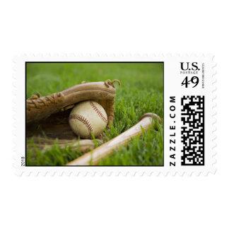 béisbol sellos postales