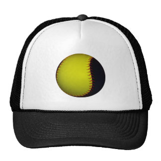 Béisbol/softball amarillos y negros gorras