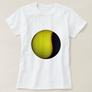 Béisbol/softball amarillos y negros poleras